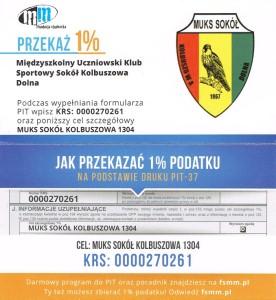 1 procent Sokół KD2015