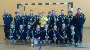 Mistrzynie Podkarpacia w Futsalu 2015